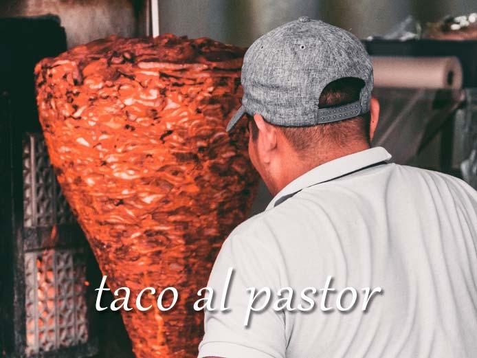 Tacos al pastor(タコス アル パストール)